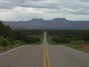 Bears Ears National Monument - The Bears Ears from Utah State Route 261