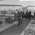 Beatrix en Claus en auto bij RAI, prinses Margriet en Pieter van Vollenhoven in , Bestanddeelnr 918-8684.jpg