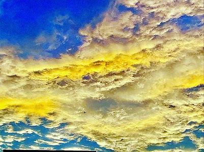 Beautiful clouds during sunset at Visakhapatnam 3.jpg