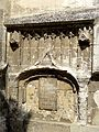 Beauvais (60), église Notre-Dame de Marissel, bas-côté sud, porte bouchée de la 3e travée 2.jpg