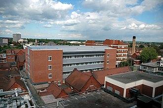 Bedford Hospital - The new pathology building