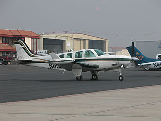 Beechcraft Bonanza - Beechcraft A36 Bonanza modified with the Tradewind Turbine's turboprop conversion
