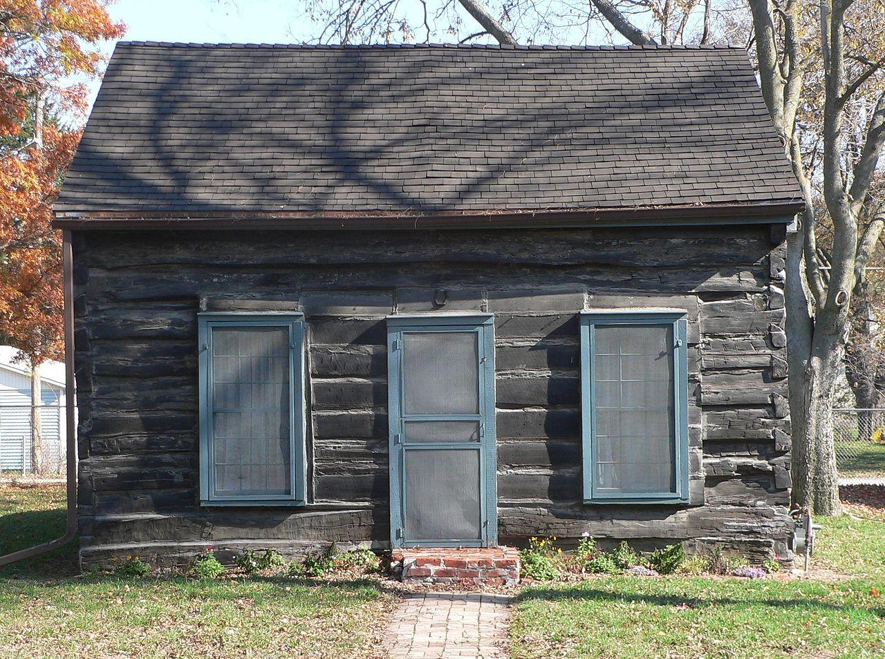 Datei:Bellevue, Nebraska log cabin from W 2.JPG – Wikipedia