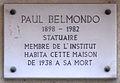 Belmondo 4 rue Victor Considérant 14e.jpg