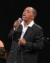 Singer Ben E. King performing in New York in 2007