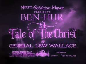 File:Ben Hur A Tale of the Christ (1925).webm