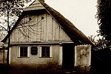 Benda family house in Benátky nad Jizerou, built 1706/07, demolished 1936. (Source: Wikimedia)