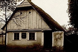 Franz Benda - Benda family house in Benátky nad Jizerou, built 1706/07, demolished 1936.