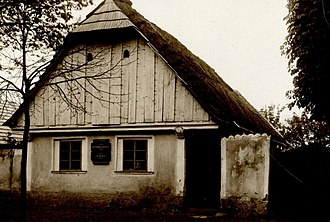 Franz Benda - Benda family house in Benátky nad Jizerou, built 1706/07, demolished 1936.