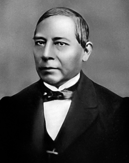 Benito Juárez President of Mexico during XIX century