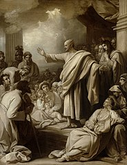 St. Peter's First Sermon in the City of Jerusalem