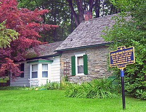 Rhinebeck (village), New York - John Benner House Historic Site