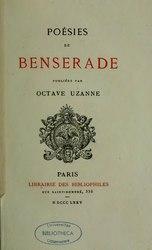 Isaac de Benserade: Poésies de Benserade