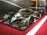 #7 Bentley Speed 8, winner of the 2003 24 Hours of Le Mans