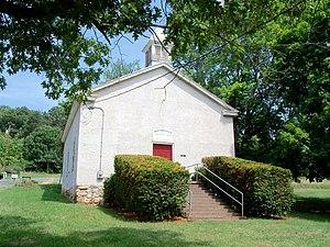 Bentonville, Virginia - Bentonville Primitive Baptist Church