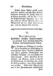 Berichtigung Fränkischer adelicher Familienwappen, S. 686-702