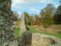 Berkhamsted castle walls