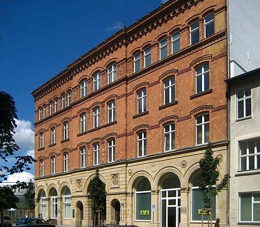 Berlin, Mitte, Zimmerstraße, Markthalle III -09