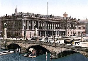 Friedrichs Bridge - The bridge in about 1900