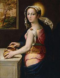 Bernardino Campi: Mary Magdalene