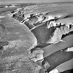 Bessel Fiord, Piedmont Glacier Flowing into Fjord, July 19, 1964 (GLACIERS 1680).jpg