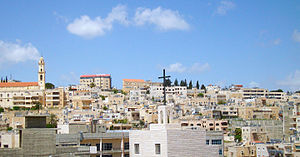 Bethlehem - Bethlehem skyline from Church of the Nativity