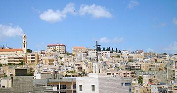 Bethlehem skyline, West Bank