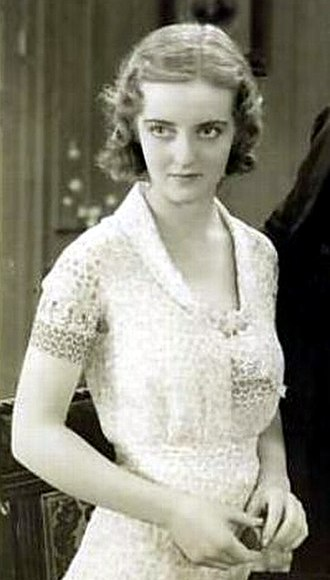 Bette Davis - Davis in her film debut, Bad Sister (1931)