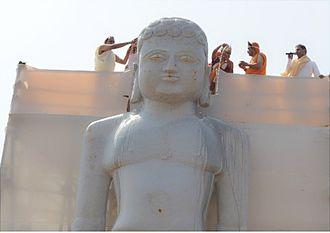 Vasupujya - Statue of Vasupujya,  Champapur, Bihar