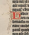 Biblia de Gutenberg, 1454 (Letra H) (21646501460).jpg