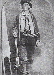 Billy the Kid, ferrotypie, asi 1879-1880