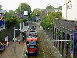 Bilston Central tram stop - Bilston Central tram stop