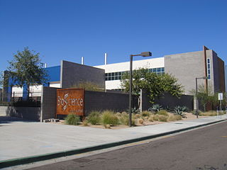 Phoenix Union Bioscience High School Public secondary school in Phoenix, Arizona, United States