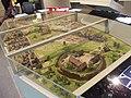 Birmingham History Galleries - Birmingham its people, its history - Origins - model - Birmingham in 1300 (8159352611).jpg