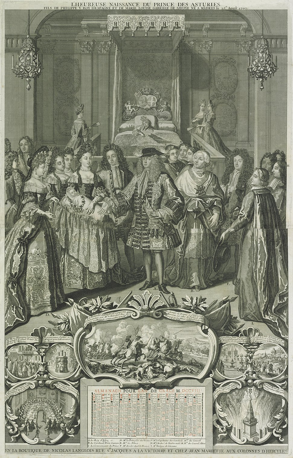Birth of the Prince of Asturias