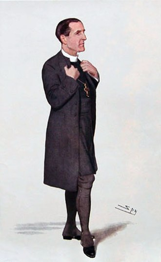 Cosmo Gordon Lang - Lang as Bishop of Stepney, caricature by Leslie Ward, 1906