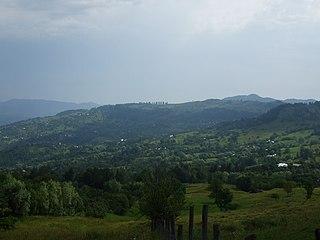 Bisoca Commune in Buzău, Romania