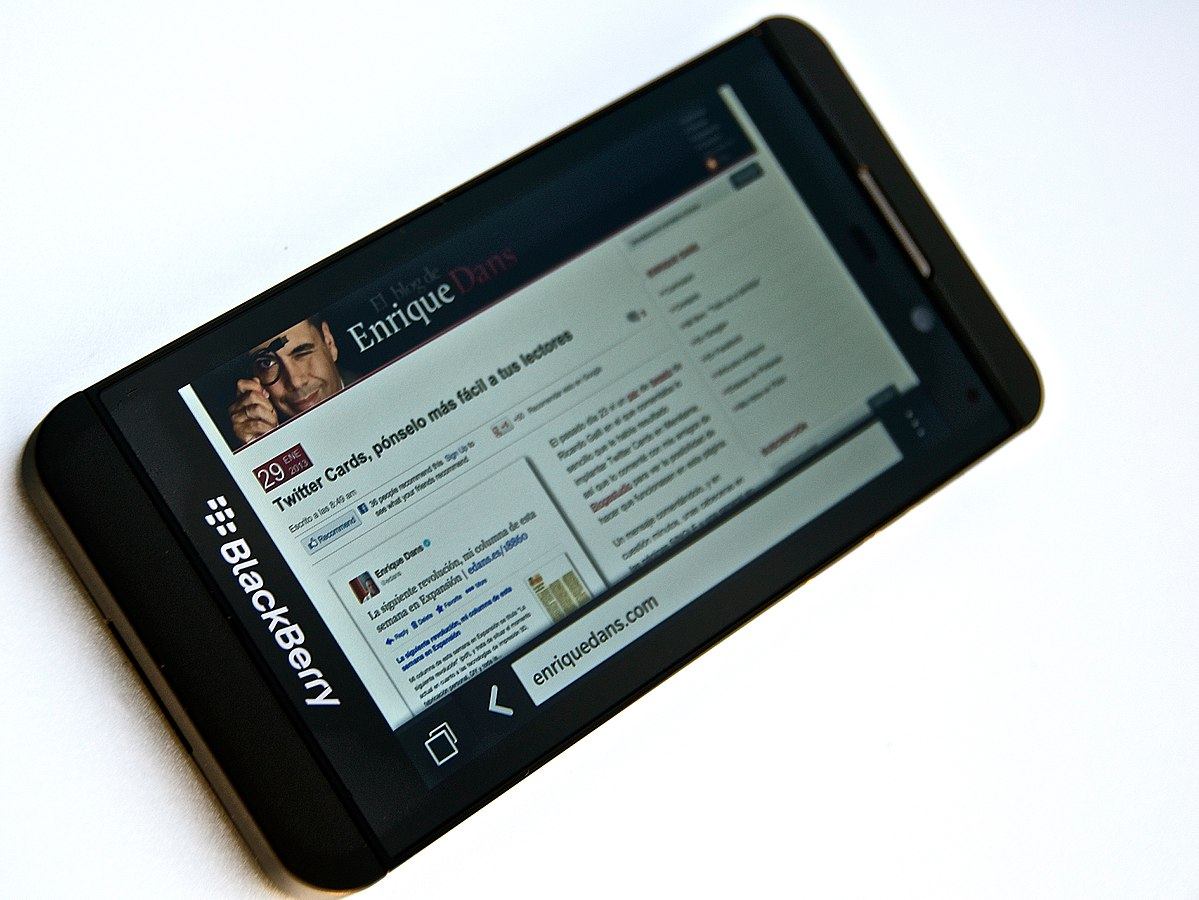 BlackBerry Z10 - Wikipedia