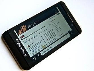 BlackBerry Z10 - BlackBerry Z10