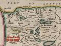 Blaeu - Atlas of Scotland 1654 - GLOTTIANA PRÆFECTVRA INFERIOR - Lower Clydesdale Auchinloch.png