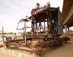 National Register of Historic Places listings in Yuma County, Arizona - Image: Blaisdell Slow Sand Filter Washing Machine