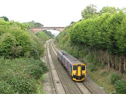 Bleadon and Uphill - FGW 150238.jpg