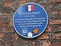 Blue plaque off Coney Street, York (28th August 2020).jpg