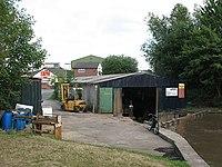 Boat repair workshop, Middlewich - geograph.org.uk - 1950895.jpg
