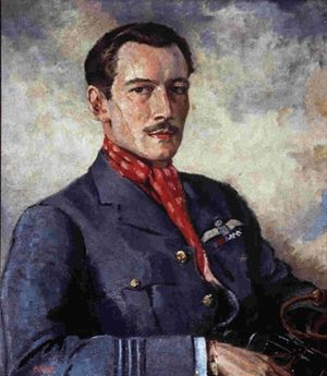 Robert Stanford Tuck - Bob Stanford Tuck, colour painting by Cuthbert Orde, 1941
