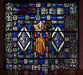 Bocan St. Mary's Church North Transept East Wall Window Ascension Bottom Panel 2014 09 09.jpg