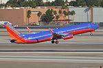 Boeing 737-8H4(w) 'N8623F' Southwest (28921384155).jpg