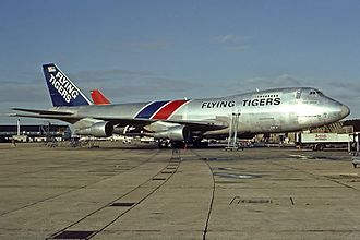 Flying Tiger Line Flight 66 - N807FT, the aircraft involved in the accident, in 1980