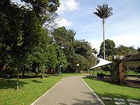 Bogotá, sendero en el Jardín Botánico.JPG
