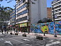 Bogotá Las Nieves carrera 7 calle 23, peatonal.JPG